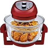 Big Boss 9063 1300-watt Oil-Less Fryer, 16-Quart, Red