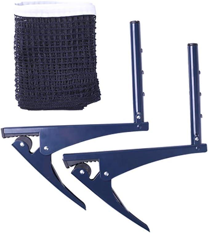 Bocotoer - Red de tenis de mesa plegable profesional de acero para pingpong