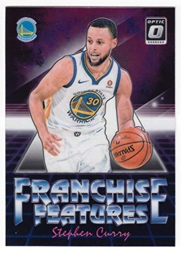 706e6cf46bd8 2018-19 Donruss Optic Franchise Features  10 Stephen Curry Golden State  Warriors NBA Basketball Trading Card