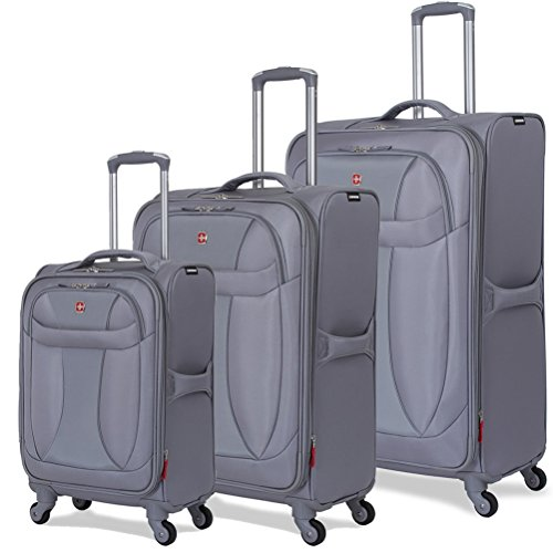 SwissGear Spinner Lite 3 Piece Set Grey