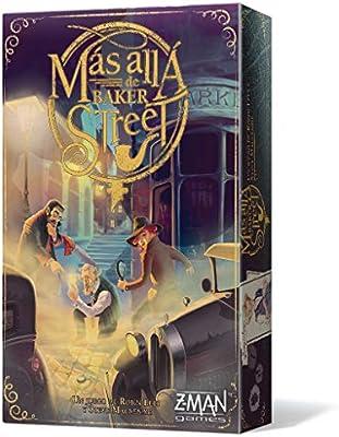 Z-Man Games-Más allá de Baker Street-Español, Color (ZM7670ES): Amazon.es: Juguetes y juegos