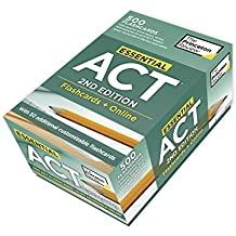 Essential ACT, 2nd Edition: Flashcards + Online: 500 Need-to-Know Topics and Terms to Help Boost Your ACT Score...