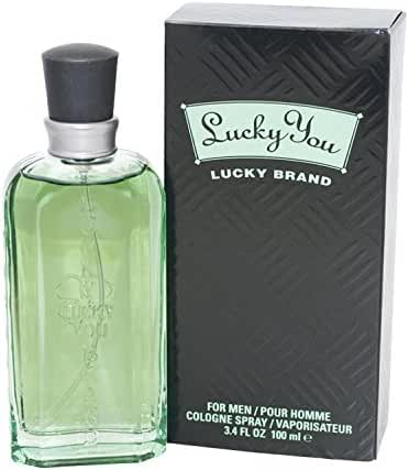 Lucky You Lucky Brand Cologne Spray 3.4 Oz For Men
