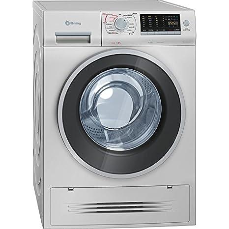 Balay 3TW976X Independiente Carga frontal A Acero inoxidable lavadora - Lavadora-secadora (Carga frontal, Independiente, Acero inoxidable, Izquierda, ...