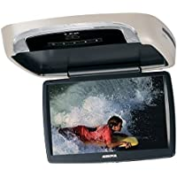 Audiovox VODDLX10A 10.1 Over Head Flipdown LED Backlit LCD Monitor w/ Built-in DVD Player and Interchangeable Skins