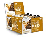 Optimum Nutrition Protein Cake Bites, Whipped Low Sugar Protein Bar, Flavor: Peanut Butter Chocolate, 12 Count