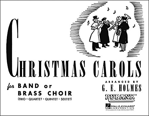 Christmas Carols for Band or Brass Choir - 3rd Part F Horn (Brass Choir) arr. G.E. Holmes