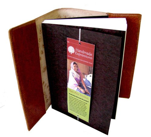 Slip-in Journal Refill - Recycled Cotton fits 5''x7'' by Taraluna - Fair Trade, Organic & Green Gifts