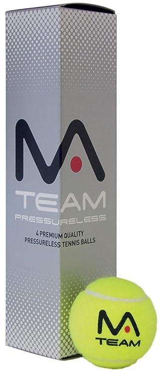 Amazon.com: Mantis Team Racquet - Juego de 4 pelotas de ...