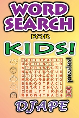 Word Search Kids 100 puzzles