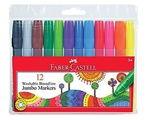 Amazon Com Faber Castell Jumbo Washable Markers Premium