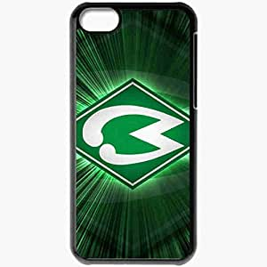 Personalized iPhone 5C Cell phone Case/Cover Skin 2013 latest werder bremen Black by supermalls