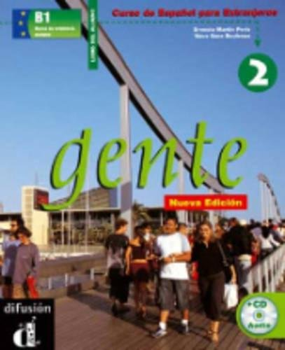 Gente 2, libro del alumno + CD (Spanish Edition)