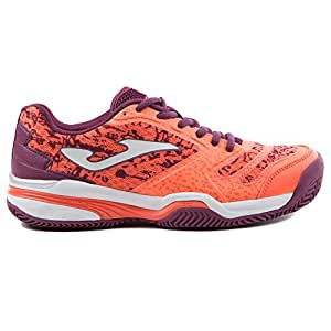 Zapatilla Padel Slam Lady 707 CORAL CLAY 40: Amazon.es: Deportes y ...
