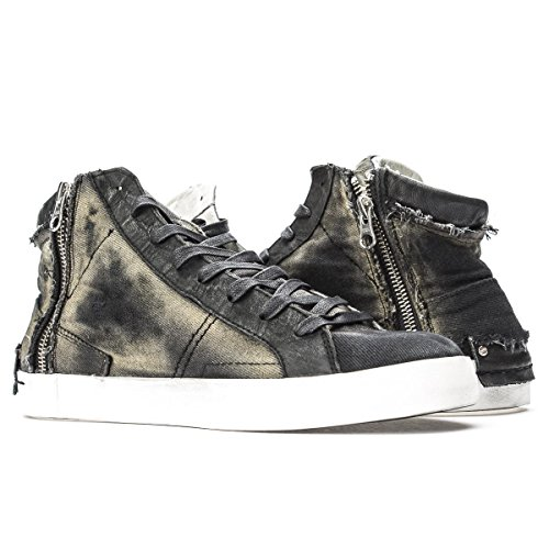 Crime London Sneakers Alta con Zip (IT Uomo 45)