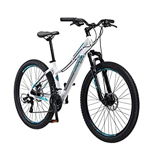 Schwinn 27.5″ Aluminum Comp Women's Mountain Bike, White