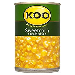 Koo Sweetcorn Cream Style (415g) - Pack of 2