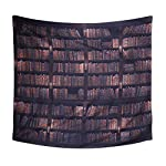 Xinhuaya Colorful Brick Pattern Wall Hanging Tapestry Modern Style Polyester Fabric Printed Wall Decor Beach Towel Bedspread Picnic Blanket