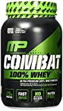MusclePharm Combat 100% Whey Protein Powder, Vanilla, 2 Pound