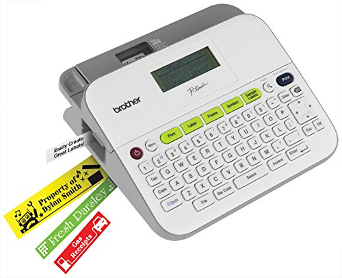 brother p touch label maker p touch ptd400ad versatile easy to use label 28719
