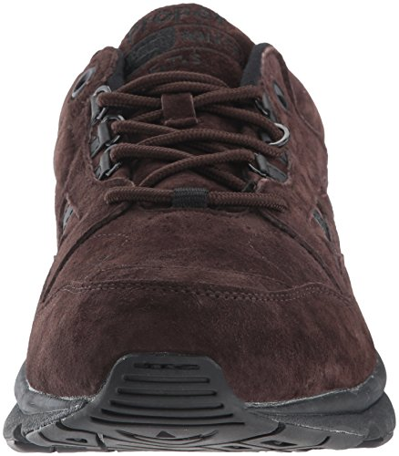Men's Leather Brown Shoes Propet Suede Walker Sneakers M2034 Stability q56CHT