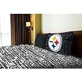 NFL Anthem Pittsburgh Steelers Bedding Sheet Set: Twin