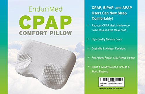 Pillow For CPAP, BiPAP, APAP Machine Users - Comfort for ...