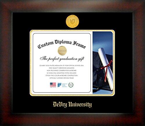 devry-university-8-1-2-x-11-mahogany-finish-infinity-diploma-frame-by-celebration-frames