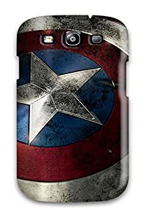 Brooke C. Hayes's Shop New Shield Of Captain America Tpu Cover Case For Galaxy S3 5119263K21388999