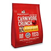 Stella & Chewy's Freeze-Dried Raw Carnivore Crunch Cage-Free Chicken Recipe Grain-Free Dog Treats, 3.25 oz bag