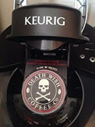 Amazon.com : Death Wish Coffee Single Serve Capsules for Keurig K-Cup Brewers, 10 Count 0.42oz ...
