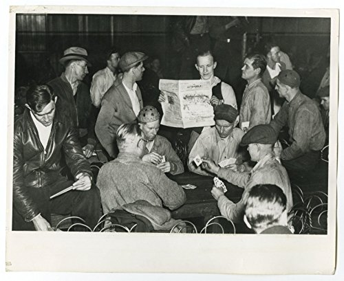 US Labor Strikes - Fisher Body Company - Vintage 8x10 Photograph - Cleveland, OH