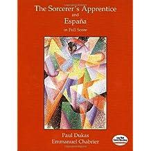 The Sorcerer's Apprentice and Espana in Full Score