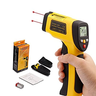 Triple Tree Thermoworks Infrared Thermometer Dual Laser Non-Contact Temperature Gun -58°F to 1202°F