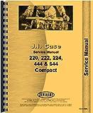 Case 222 Lawn & Garden Tractor Service Manual