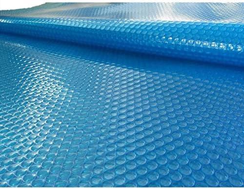 プールカバー プール&温水浴槽カバー、地上および地上のスイミングプールのソーラーカバー暖房毛布、バブルサイドダウンを配置します。 (Size : 2m × 7m(6ft×23ft))