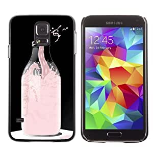 Designer Depo Hard Protection Case for Samsung Galaxy S5 / Cool Milk Octopus