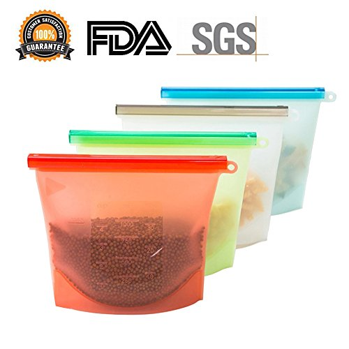 reusable freezer bags silicone - 3