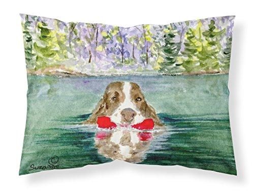 Caroline's Treasures SS8943PILLOWCASE Springer Spaniel Moisture Wicking Fabric Standard Pillowcase, Large, - Springer Spaniel Pillow