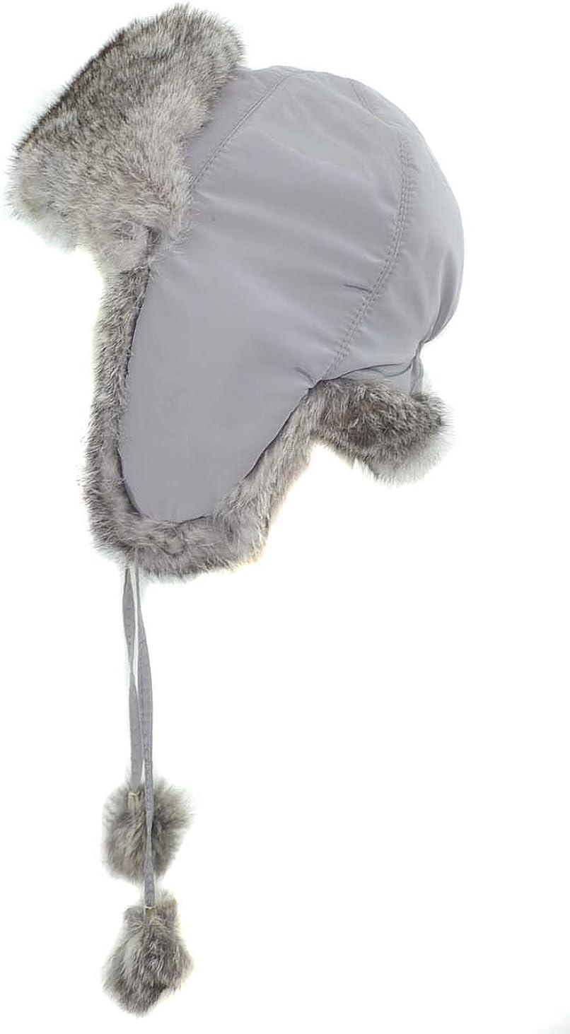 Adult Ski Bomber Hat Winter Trapper Aviator Trooper Earflap Warm Cap Flowery