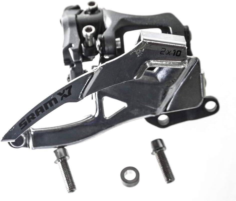 SRAM X.7 Dual-Pull High Direct Mount 2x10-speed MTB Front Derailleur Take Off