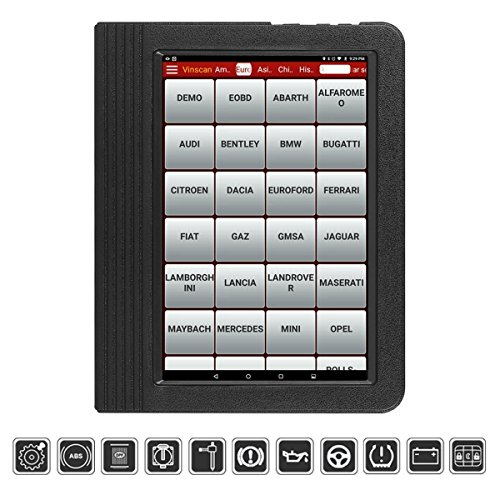 LAUNCH Launch053 Husky OBD2 Full System Bi-Directional Diagnostic Scanner(Updagraded Version of x431 V and Pro) with ECU, ABS Bleed, Oil Reset, SAS, DPF, EPB, BMS, TPMS, ETS, Gear Learning, IMMO, Injector Coding