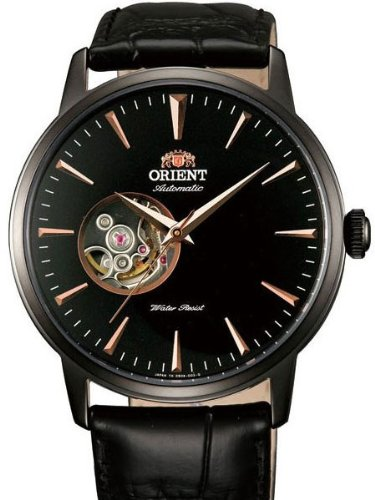 Orient Esteem 21-Jewel Automatic Dress Watch with Leather Strap - 21 Jewel Automatic