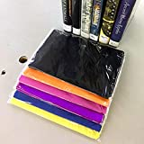 Stretchable Jumbo Book Covers 7 Pack, School Book