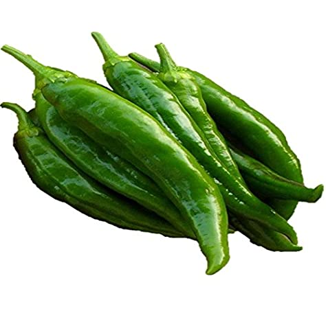Amazon Com Anaheim Chile Pepper Seeds Bulk Easy Heirloom 138 100 Seeds Or 1 Gram Garden Outdoor