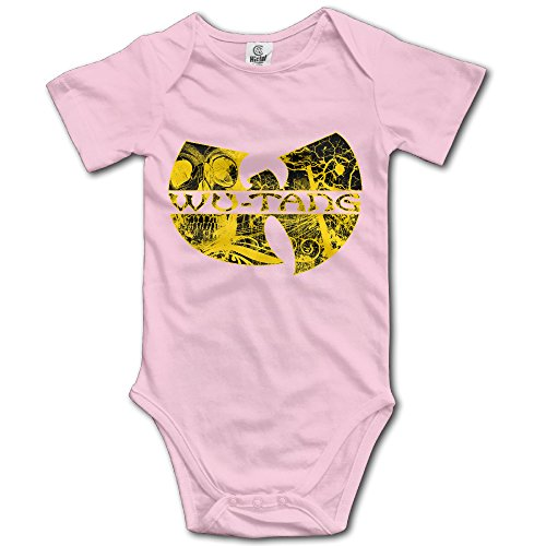 - Wu Tang Clan Short-Sleeve Romper Jumpsuit For 6-24 Months Boys & Girls 12 Months Pink