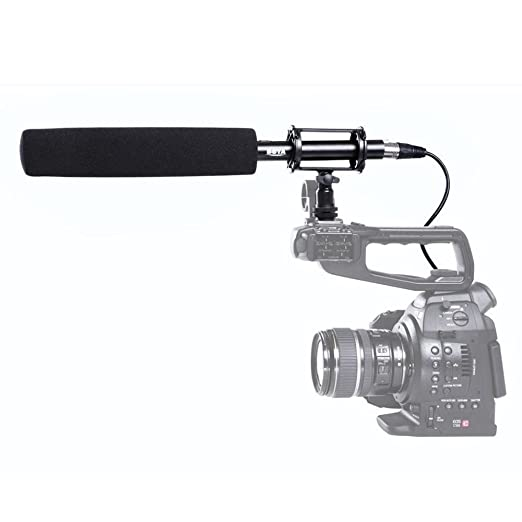 Yunchenghe BY-PVM1000L Micrófono de condensador profesional 38cm ...