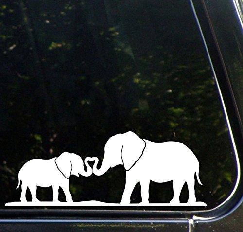 SoCool - Elephant Mom & Baby Kissing - Vinyl - 5.5