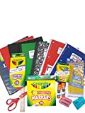School Supply Basics - Supplies for Pre-School, Elementary and Middle School - Wide Ruled Notebooks, Wide Ruled Composition Books, Markers, Colored Pencils, Pencils, Crayons, Scissors, Glue Sticks