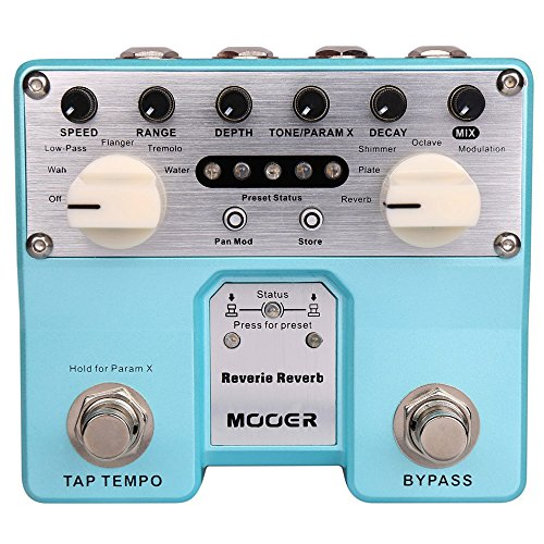 Twin Guitar Pedal - Mooer TRV2 Reverie Reverb Twin Series Pedal
